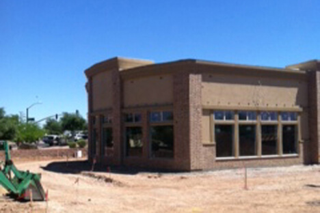 Kneaders under construction.