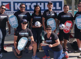 Kitchell Celebrates its Founder with Over 1,000 Hours of Community Service