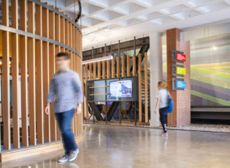 Holly Street Studio Transforms Iconic 1960s Building to Modern Teaching Facility