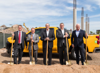 Groundbreaking for new six-story, Class A office building in Tempe