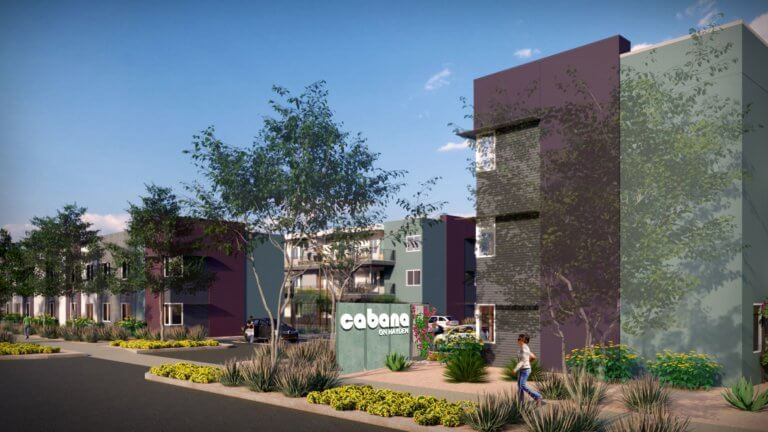 $59.7 Million in Three Non-Recourse Construction Loans Funded for Cabana Brand Apartments